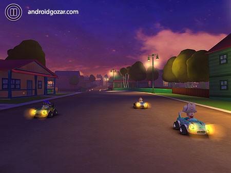 Garfield Kart Fast & Furry 1.043 دانلود بازی ماشین سواری گارفیلد+مود+دیتا