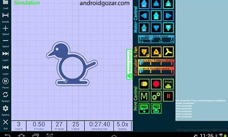 GCodePrintr – The 3D Print App 3.13 دانلود نرم افزار چاپ سه بعدی