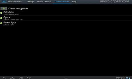 GMD GestureControl ★ root 10.1.7 کنترل گوشی اندروید با حرکت