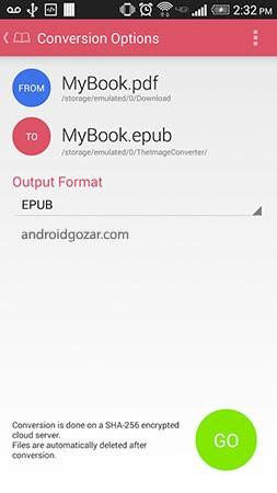 The Ebook Converter 2.03 دانلود نرم افزار تبدیل فرمت کتاب