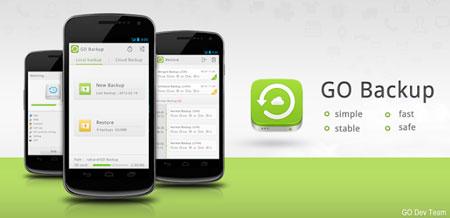 GO Backup & Restore Pro Premium 3.51 پشتیبان گیری و بازیابی