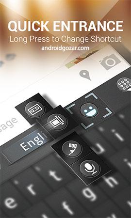 GO Keyboard Prime 3.52 دانلود صفحه کلید کامل و فارسی اندروید