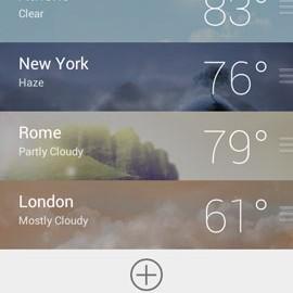 GO Weather Premium 6.162 دانلود نرم افزار آب و هوا اندروید
