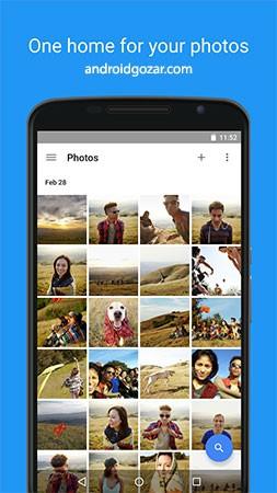 Google Photos 4.12.0.238634345 مدیریت عکس و فیلم اندروید