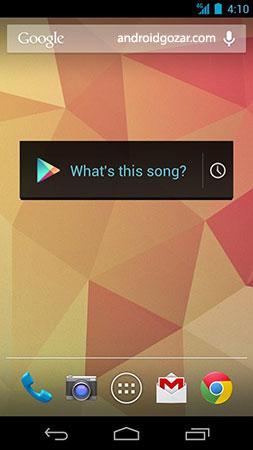 دانلود Sound Search for Google Play 1.1.12 ویجت شناسایی آهنگ