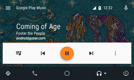Android Auto 4.2.591434 دانلود نرم افزار اتومبیل اندروید