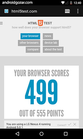 Android System WebView 70.0.3538.80 نمایش محتوای وب در برنامه ها