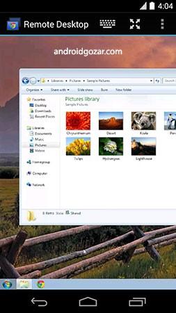 Chrome Remote Desktop 71.0.3578.8 کنترل کامپیوتر از راه دور با موبایل