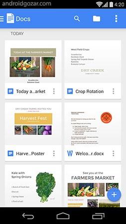 Google Docs 1.18.372.06.30 ساخت و ویرایش اسناد در اندروید