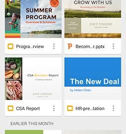 Google Slides 1.19.212.02.30 دانلود برنامه ساخت و ویرایش ارائه در اندروید