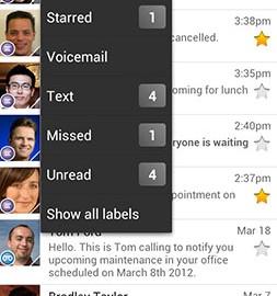 Google Voice 5.9.191094625 دانلود نرم افزار تماس و پیامک رایگان اندروید