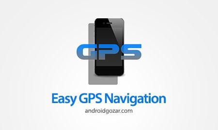 دانلود Easy GPS Navigation 4.0 PRO 4.0 برنامه ناوبری آسان در رانندگی