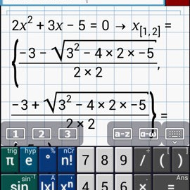 Graphing Calculator PRO/EDU 2.5.71 Patched دانلود ماشین حساب نموداری