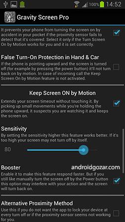 دانلود Gravity Screen Pro – On/Off 3.30.5.0 – روشن و خاموش کردن خودکار صفحه