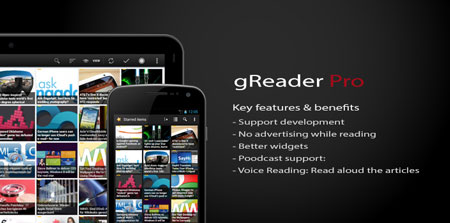 gReader Pro 4.3.1 Paid Patched دانلود نرم افزار گوگل ریدر