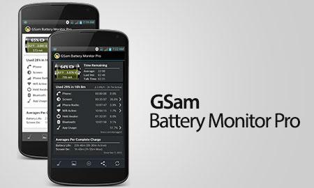 دانلود GSam Battery Monitor Pro 3.40 – برنامه نظارت مصرف باتری اندروید