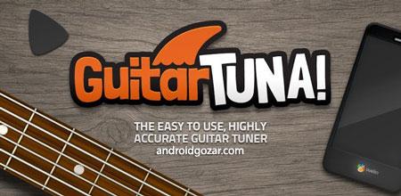 دانلود GuitarTuna Pro 6.16.0 برنامه تیونر و کوک گیتار اندروید