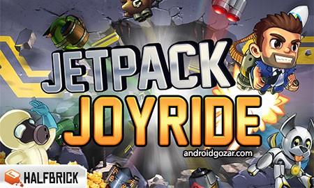 دانلود Jetpack Joyride 1.43.1 بازی جت پک اندروید + مود