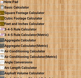 Handyman Calculator Pro 2.4.6 دانلود ماشین حساب ساخت و ساز