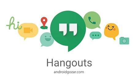 Hangouts 20.0.156935076 دانلود نرم افزار تماس ویدیویی رایگان گوگل