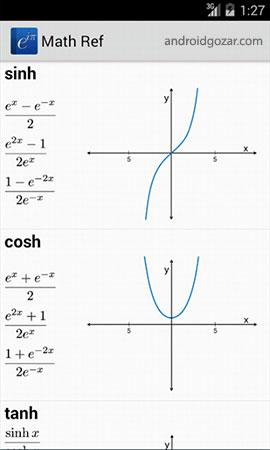 Math Ref 2.5.9 دانلود نرم افزار مرجع ریاضی