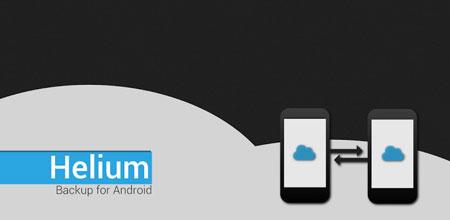Helium Premium 1.1.4.3 دانلود نرم افزار پشتیبان گیری و بازیابی برنامه ها