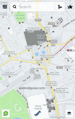 دانلود HERE WeGo 2.0.13757 – نقشه و GPS آفلاین نوکیا اندروید + نقشه ایران