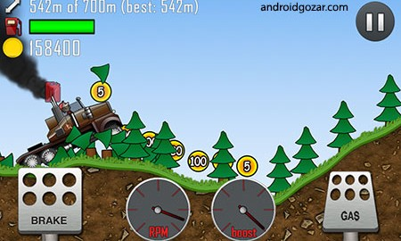 دانلود Hill Climb Racing 1.45.6 بازی رانندگی اعتیاد آور اندروید + مود