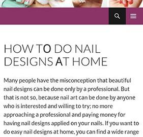 Hot Nail Art Designs 1.5.2 دانلود نرم افزار طراحی های ناخن