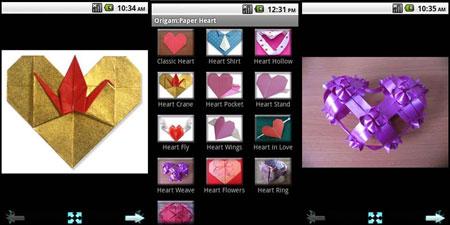 How to Fold Paper Heart 2013.3 آموزش ساخت قلب کاغذی
