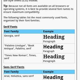 HTML Pro Quick Guide 1.3 دانلود نرم افزار آموزش سریع HTML