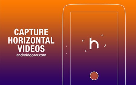 Horizon Camera 1.5.2.8 FULL دانلود نرم افزار دوربین افقی اندروید