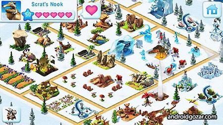 Ice Age Village 3.6.0f دانلود بازی دهکده عصر یخبندان اندروید + مود