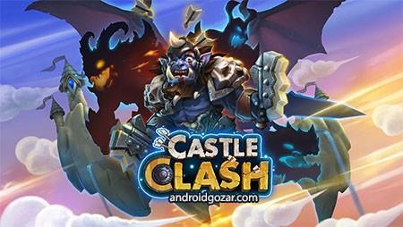 دانلود Castle Clash 1.8.6 بازی عصر افسانه کستل کلش اندروید