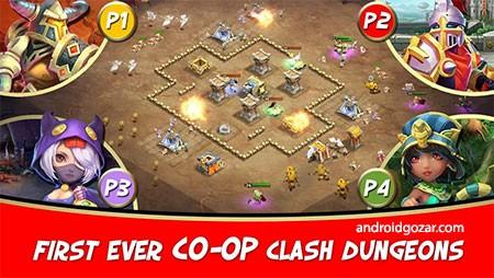 Castle Clash 1.5.4 دانلود بازی عصر افسانه کستل کلش اندروید