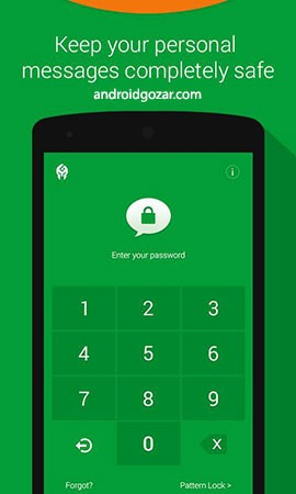 Message Locker – SMS Lock 1.3.5 Unlocked دانلود نرم افزار قفل کردن پیام ها