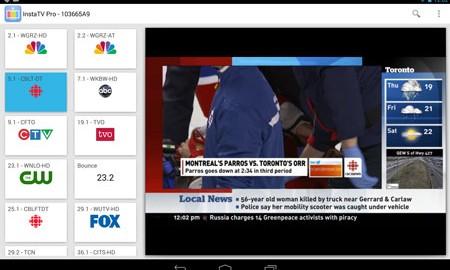 InstaTV Pro 2015070101 دانلود نرم افزار تلویزیون زنده
