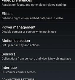 IP Webcam Pro 1.14.29.734 دانلود برنامه تبدیل موبایل به دوربین شبکه