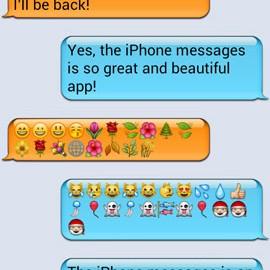 iPhone Messages 1.39 دانلود نرم افزار پیام های آیفون