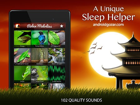 Relax Meditation Premium: Sleep Sounds 3.0.2 نرم افزار بهبود خواب و تمرکز