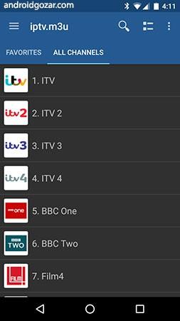 دانلود IPTV Pro 6.0.8 برنامه تلویزیون اینترنتی اندروید