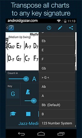iReal Pro MusicBook-PlayAlong 6.0.4 دانلود نرم افزار کتاب موسیقی-همراهی در اجرا