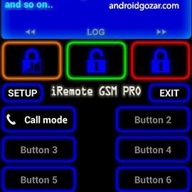 iRemote GSM PRO 2.1.0 مدیریت دستگاه های قابل کنترل با SMS