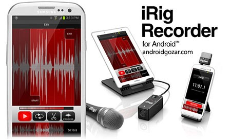 iRig Recorder 1.1.3 Patched دانلود نرم افزار ضبط و ویرایش صوت