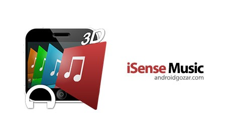 iSense Music – 3D Music Player 2.006s دانلود موزیک پلیر سه بعدی