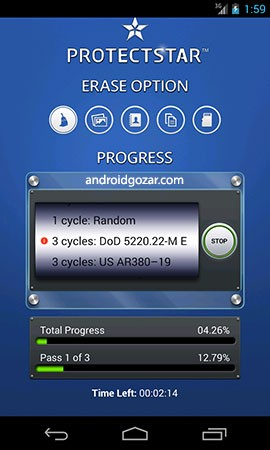 دانلود iShredder 6 Military 6.1.8 برنامه حذف دائمی فایل های اندروید