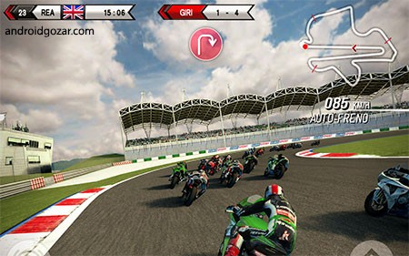 SBK15 Official Mobile Game Full 1.5.2 دانلود بازی موتور سواری اندروید + دیتا
