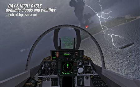 F18 Carrier Landing II Pro 4.0 دانلود بازی شبیه ساز فرود جت اف 18+دیتا