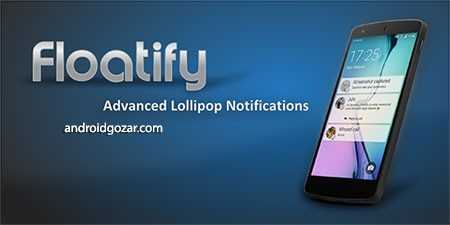 Floatify Lockscreen Pro 11.61 دانلود اطلاعیه های شناور اندروید