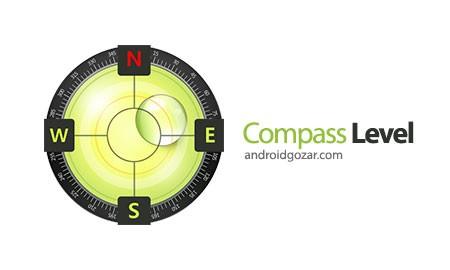 Compass Level Premium 2.3.5 دانلود ابزار قطب نما، تراز سنج و GPS